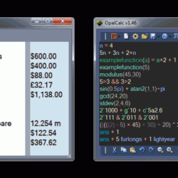 OpalCalc 1.63