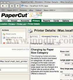 PaperCut NG (Macintosh) 9.6 build 8924
