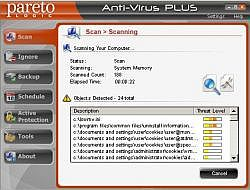 ParetoLogic Anti-Virus PLUS 6.1.0