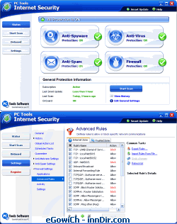 PC Tools Internet Security 2008 5.5.1.322