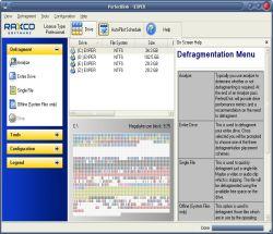 PerfectDisk Professional 12.5 Yapı 309