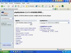 phpMyAdmin 3.2.3