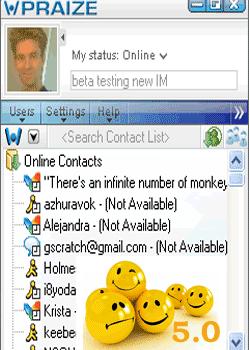 Praize Instant Messenger 5.0
