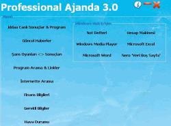 Professional Ajanda 3.0S