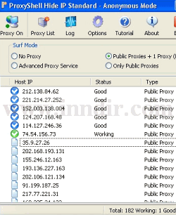 ProxyShell Hide IP 3.1.3