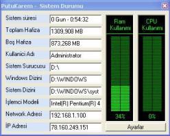 PutuKarem - Sistem Durum 1.0