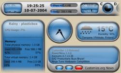 Rainmeter 2.1 r826 Beta
