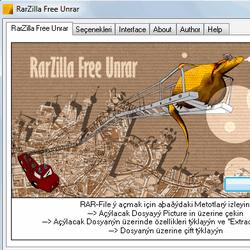RarZilla Free Unrar 5.10