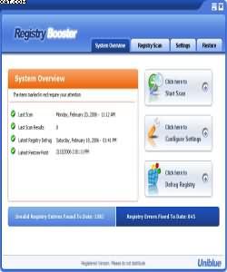 RegistryBooster 2010 4.7.6.10