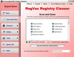 RegVac Registry Cleaner 5.02.00
