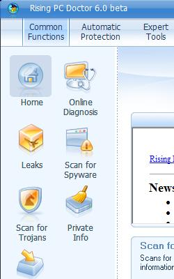 Rising PC Doctor 6.0.5.54