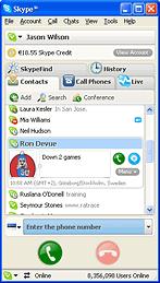 Skype 4.0.0.166 Beta