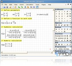 SMath Studio (Linux) 0.87