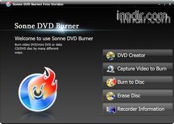 Sonne DVD Burner 4.3.0.2137