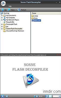 Sonne Flash Decompiler 5.2.1.2322