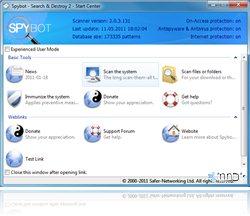 Spybot - Search & Destroy 2.0.5 Beta 3