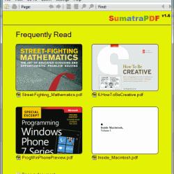 Sumatra PDF 2.0.1