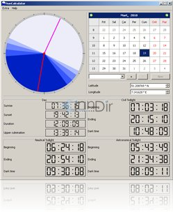 SunCalculator (Mac)