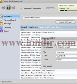 Super MP3 Download 4.8.1.8