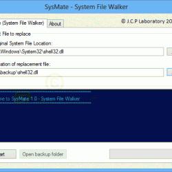 SysMate System File Walker 1.1.2