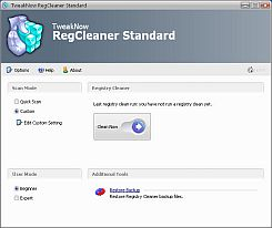 TweakNow RegCleaner Standard 5.1.1
