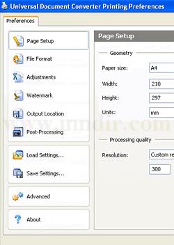 Universal Document Converter 6.0