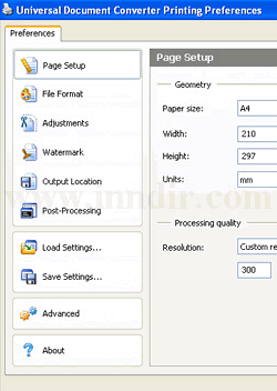 Universal Document Converter 6.2