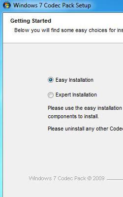 Windows 7 Codec Pack 4.0.6