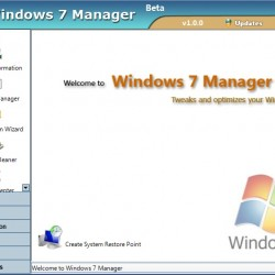 Windows 7 Manager 3.0.9