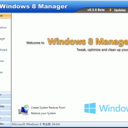Windows 8 Manager 2.0.2