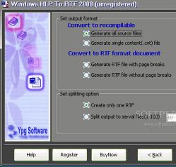 Windows HLP To RTF 8.0