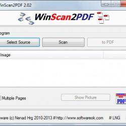 WinScan2PDF 2.11