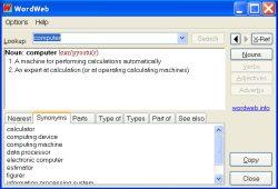 WordWeb 5.5