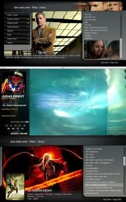 XBMC Media Center (Linux) 8.10 Atlantis