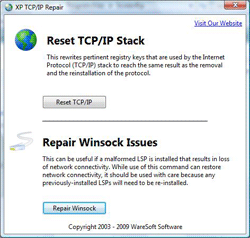 XP TCP/IP Repair 2.0